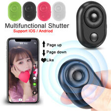 Shutter Release Button Bluetooth Remote Control Selfie Accessory For Smart Phone