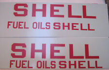 Buddy L Shell oil water slide decal set
