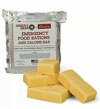 Emergency Food Rations - 3600 Calorie Bar - 3 Day Supply - Expires 3/25