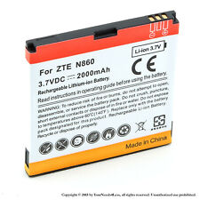 2000mah Battery for ZTE Warp N860 Boost Mobile