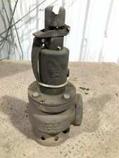 "Conbraco A-5539-00 4"" Cast Iron Hot Water Pressure Relief Valve A126 B"