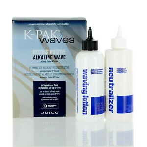 Joico K-Pak Waves Reconstructive Alkaline for single process hair- New in box