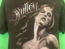 Sullen Cypress Hill Collaboration Shirt Woman With Skull Size Large