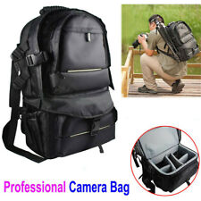 X-Large Digital Camera Bag Backpack SLR DSLR Case for Nikon Sony Canon Rucksack