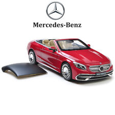 Original 1:18 Diecast Model Car - 2017 Mercedes S Class Maybach S650 Cabriolet