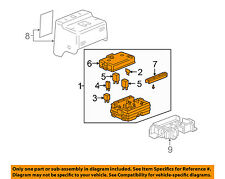 Buick GM OEM 05-07 Rainier-Electrical Fuse & Relay Box 25925580