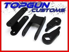 "1983-2005 GMC S-15 1""-3"" Front Torsion Keys + 2"" Rear Shackles Full Lift Kit 4WD"