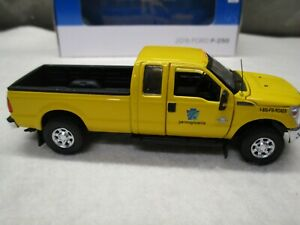 SWORD 2016 Ford F250 PennDot Yellow Pickup Truck Super Cab 8 ft bed 1/50 NIB