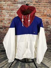 Vtg Polo Sport Ralph Lauren Spell Out Flag Color Block Wind Jacket Men's Size L