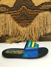 ADIDAS SLIDES Mens Blue Slippers Flip Flops  Sandals SZ 12  M25578