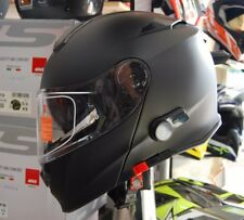 CASCO APRIBILE MODULARE DELTA BL-A2 CON INTERFONO BLUETOOTH INTEGRATO NERO tg M