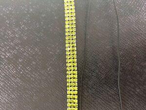Peridot Green crystal hair band