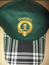 Menzies Baseball Cap. Scottish Tartan Plaid Hat