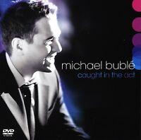BUBLE MICHAEL - CAUGHT IN THE ACT - CD + DVD NUOVO