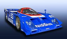 Nissan ZX GTP Turbo  Can-Am Vintage Classic Race Car Photo (CA-0620)