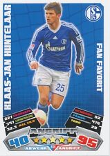 KLAAS-JAN HUNTELAAR # NETHERLANDS SCHALKE 04 CARD MATCH ATTAX BUNDESLIGA 2013