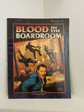 Shadowrun: Blood in the Boardroom, RPG, Fasa, Softcover