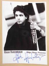 KLASSIK: HAKAN HARDENBERGER original signiert !!!