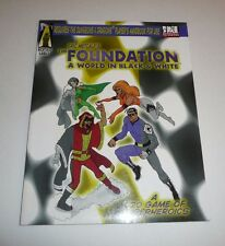 Eric Metcalf's The Foundation A World in Black & White RPG Gaming Book D20 Game