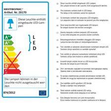 SMD LED Unterbauleuchte Anbauleuchte Unterbau Anbau leuchte Alu Licht schwenkbar