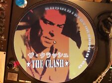 "THE CLASH - Should I Stay Or Should I Go Rare 12"" Picture Disc Promo Single LP"