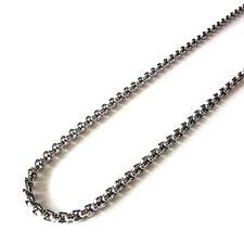 Halskette robuste Erbskette 4 mm Bikerkette Ankerkette Edelstahl 60 cm 0986