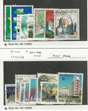 Finland, Postage Stamp, #593-600, 601-608 Used, 1977-78