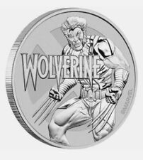 More details for marvel wolverine 1 oz silver coin tuvalu dollar 2021