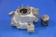 2002 02 KX250 KX 250 Cylinder Jug Barrel Top End Piston Powervalve Exhaust Valve