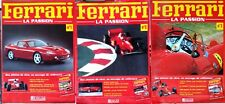 "Lot de 3 Ferrari ""La Passion"" n°1-2-3 Editions Atlas"