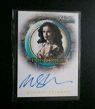 XENA MEIGHAN DESMOND AS DISCORD (A17) AUTOGRAPH CARD - 2001