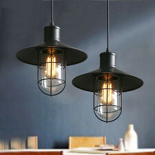 Vintage Pendant Light Bar Lamp Kitchen Black Pendant Lighting Home Ceiling Light