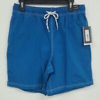 Roundtree & Yorke Blue Drawstring Trunks Men's Swimwear NWT $40 Choose Size