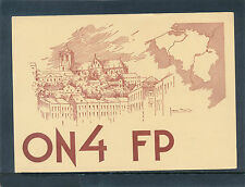 QSL-Funker-Karte Liege, Belgien ON4FP   22/4/15