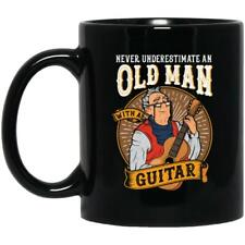 Never Underestimate An Old Man With A Guitar Music Mug Best Gift For Friends