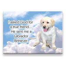 Labrador Retriever True Friend From God Fridge Magnet 3