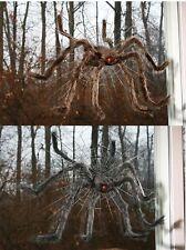 "30"" Spider Window Crasher Halloween Decoration Prop Haunted House Brown Black"