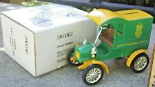 Ertl Ford 1905 Beckman High School Delivery Van 1;25 Scale Die Cast Coin Bank
