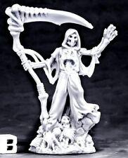 1x UNDYING LORD OF DEATH -BONES REAPER figurine miniature rpg jdr skeleton 77558