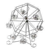 8 Cup Ferris Wheel Cake Rack Cupcake Stand Holder for Birthday Wedding Decor