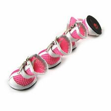 Girl Pet Dog Protective Shoes Sandals Trainers Sneakers Clothing Clothes Pink