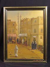 Acrylic on Canvas Middle East Market Whan Kim 83