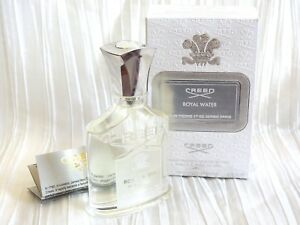 NEW FULL AUTHENTIC CREED ROYAL WATER MILLESIME 2.5 FL OZ / 75 ML BATCH S03613W01