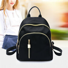 Women Ultralight Lightweight Small Rucksack Nylon Mini Waterproof Backpack Black