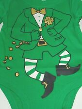 New Carter's Leprechaun One-Piece St. Patrick's Day Outfit Costume Infant 3M