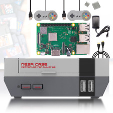 Raspberry Pi 3 Model B+ Game Console NESPI Retro Arcade DIY Gaming Kit