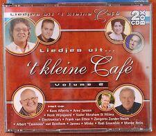 LIEDJES UIT 'T KLEINE CAFE  - VOLUME  2 - - !!!  2 CD BOX  !!!