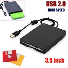 8.9cm FDD USB DURO EXTERNO LECTOR DE DISQUETES 1.44mb para portátil PC WIN MAC