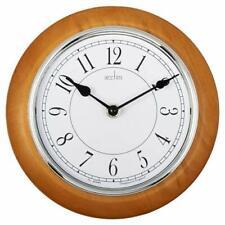 Acctim 24581 Newton Light Wood Wall Clock