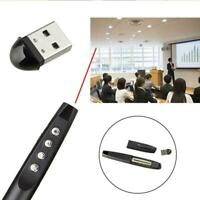 Slim Wireless USB Presenter Powerpoint Clicker Presentation Remote Good Pen M6E3